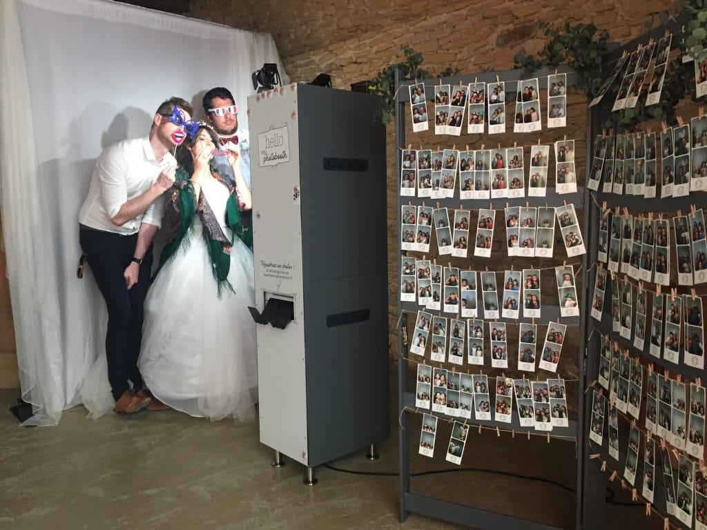 Photobooth Lyon Mariage