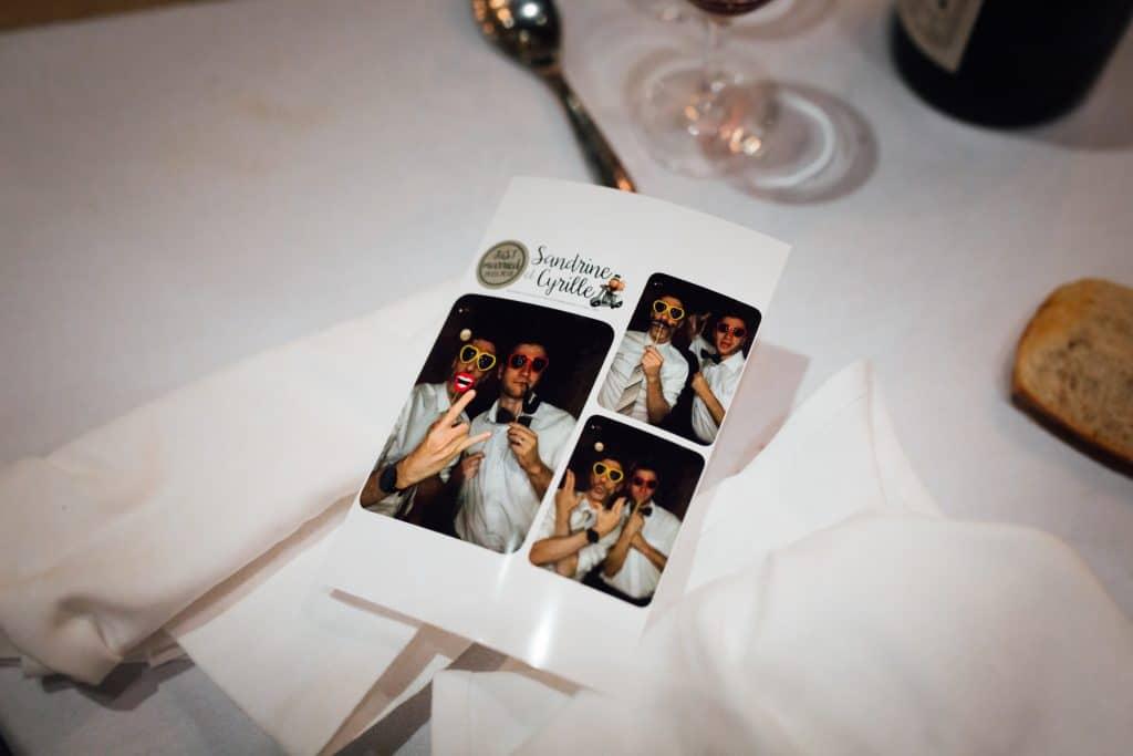 Photos souvenir mariage