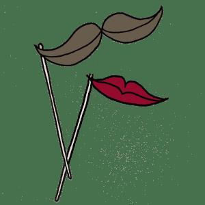 Accessoires photobooth logo