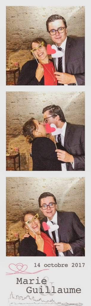 Mise en page photobooth 3 photos