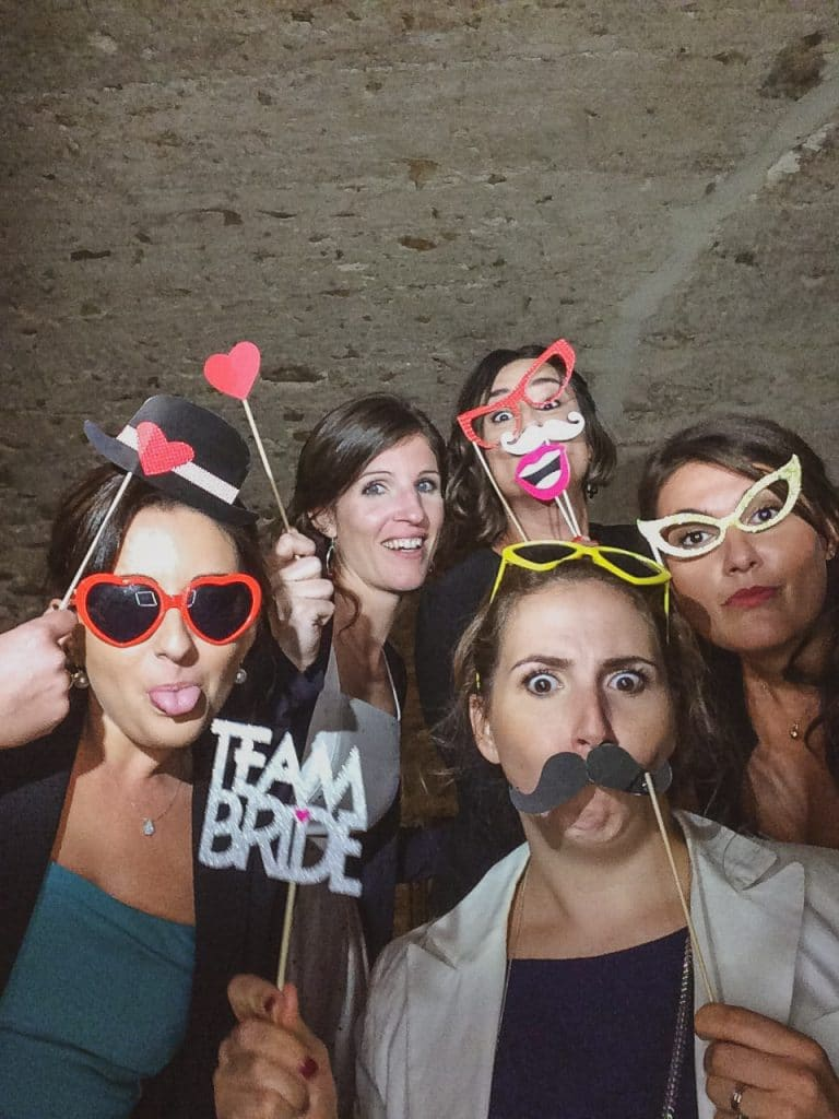 photobooth mariage chateau courbeville