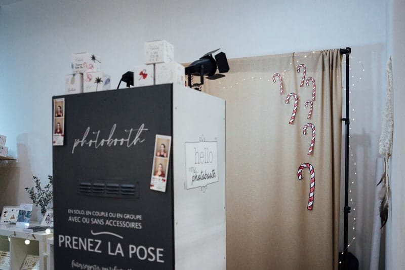 Photobooth noel lyon