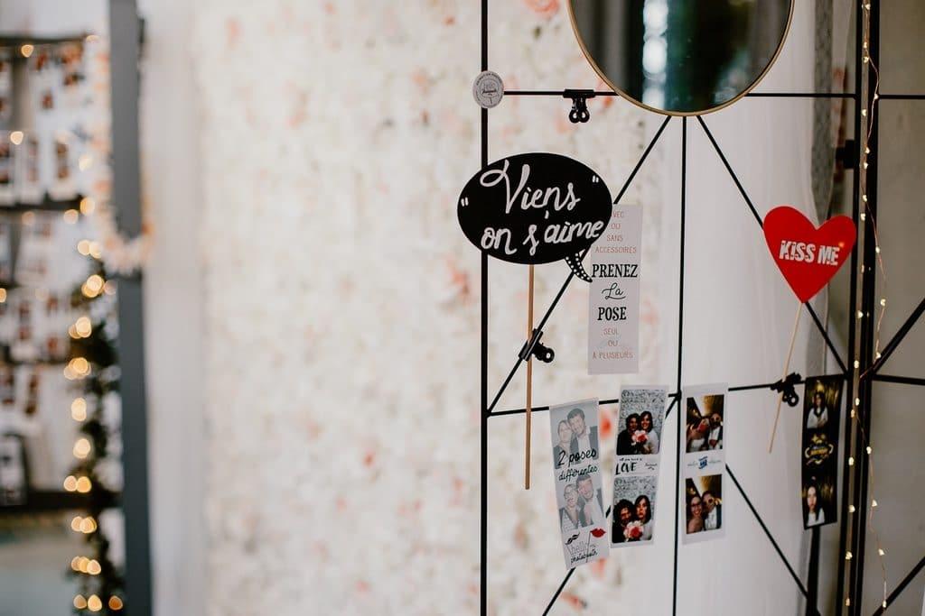 decoration photobooth