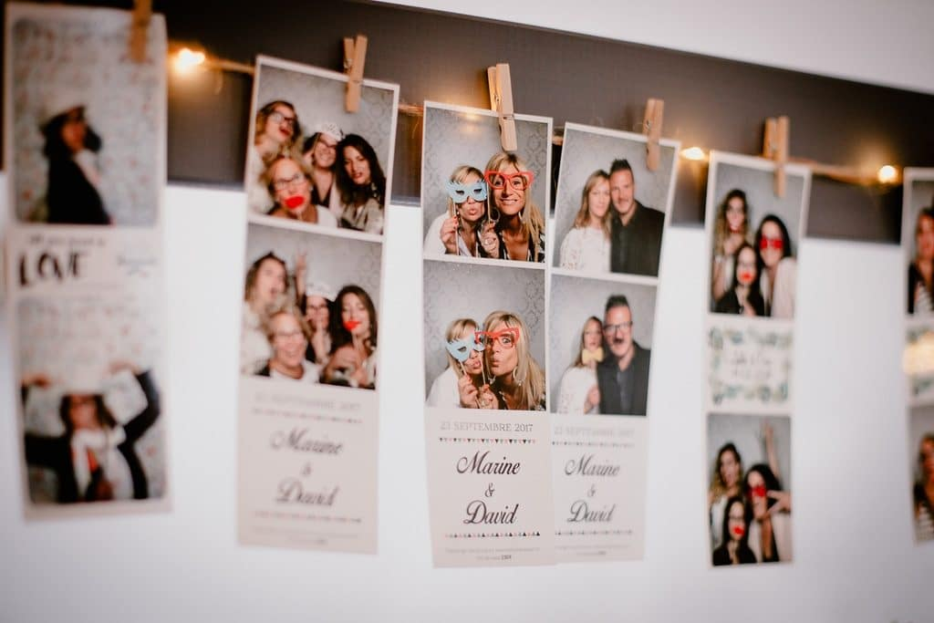 mise en page photobooth