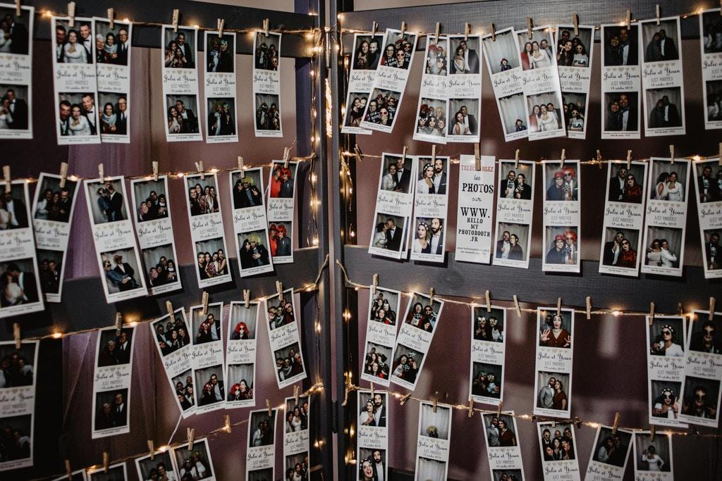 Support lumineux pour afficher les photos