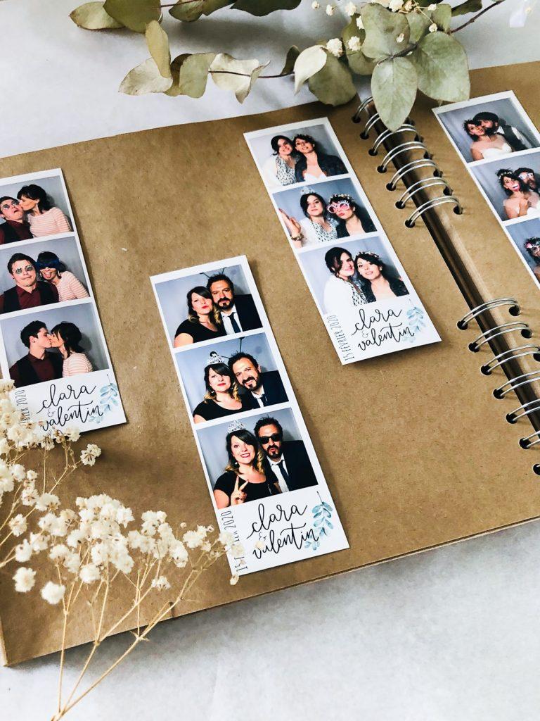 livre d'or mariage kraft