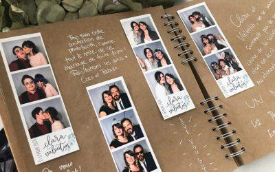 Un livre d'or photobooth original pour votre mariage !