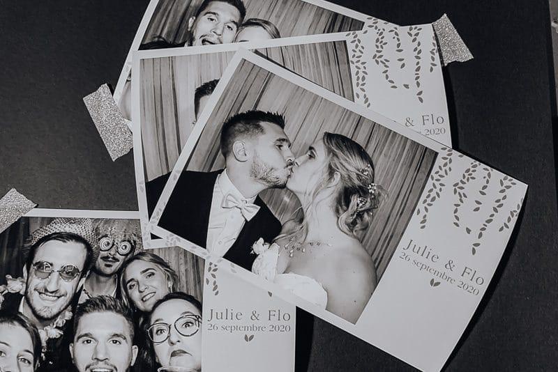 Photobooth mariage au Manoir de Tourieux à Savigny